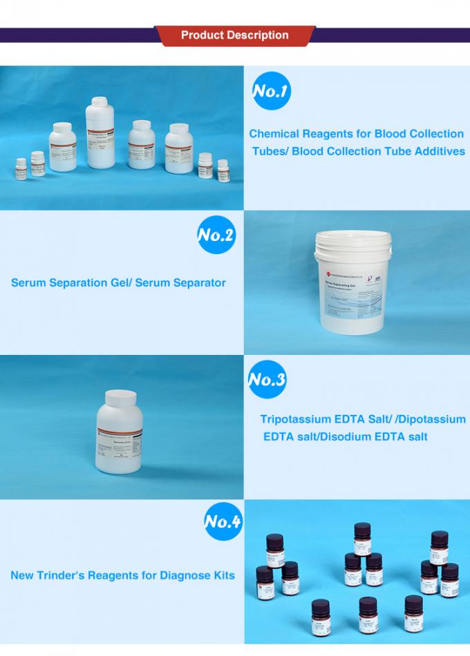 Polymer Separating Gel Blood Collection Tube Additives Serum Separation For Vacutainer Or Non Vacutainer